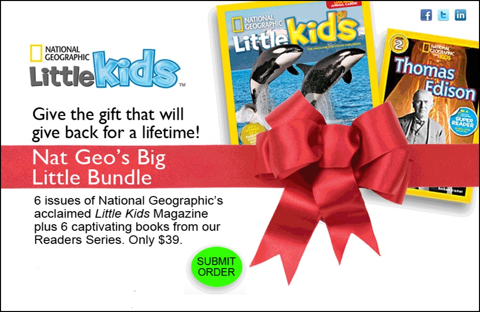 Nat Geo Little Kids Big Bundle
