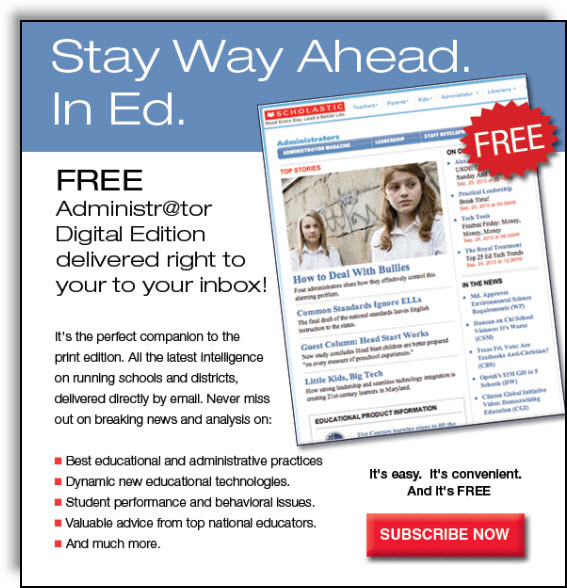 Administrator Magazine Email Promotion