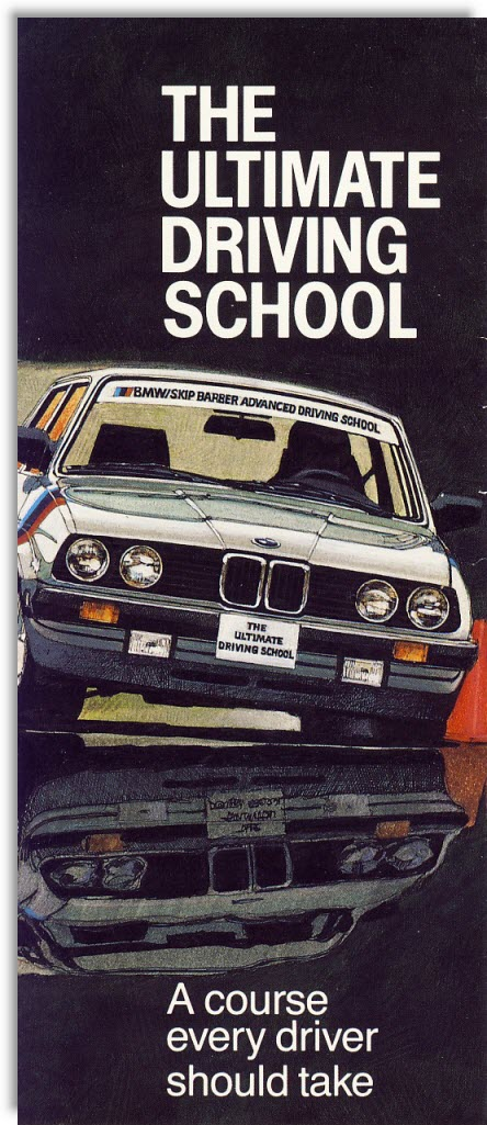 BMW           Driving School Brochure Cover