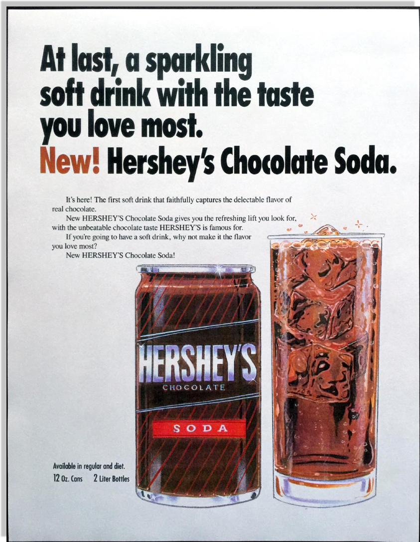 hershey u0026 39 s chocolate soda campaign - jerry mctigue