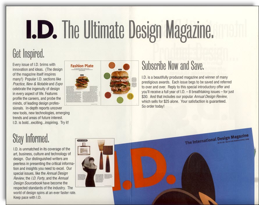 i d  magazine direct mail - jerry mctigue
