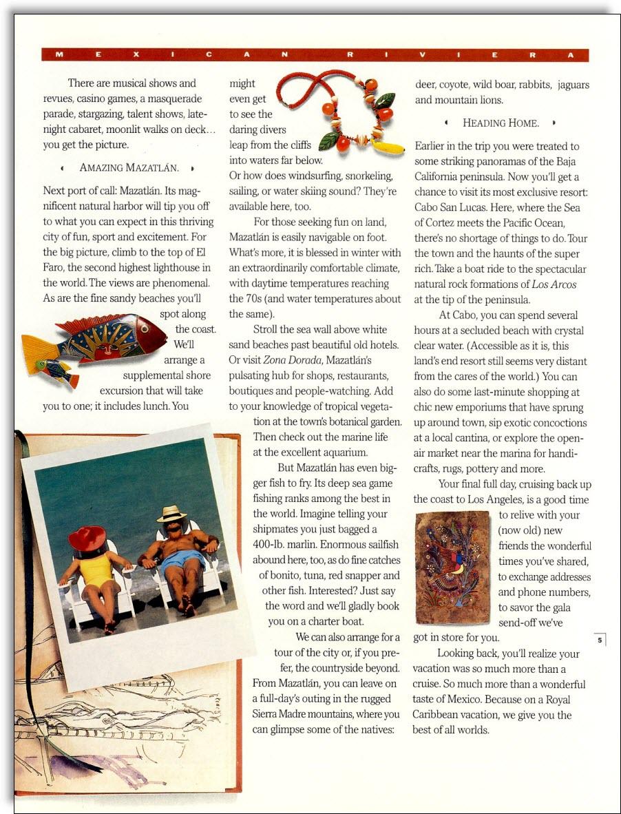 royal caribbean cruise brochure pdf