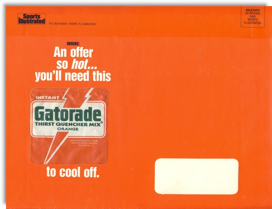 Sports Illustrated Gatorade Package